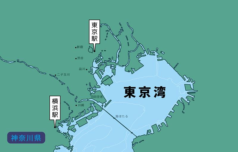 第1回目:東京湾